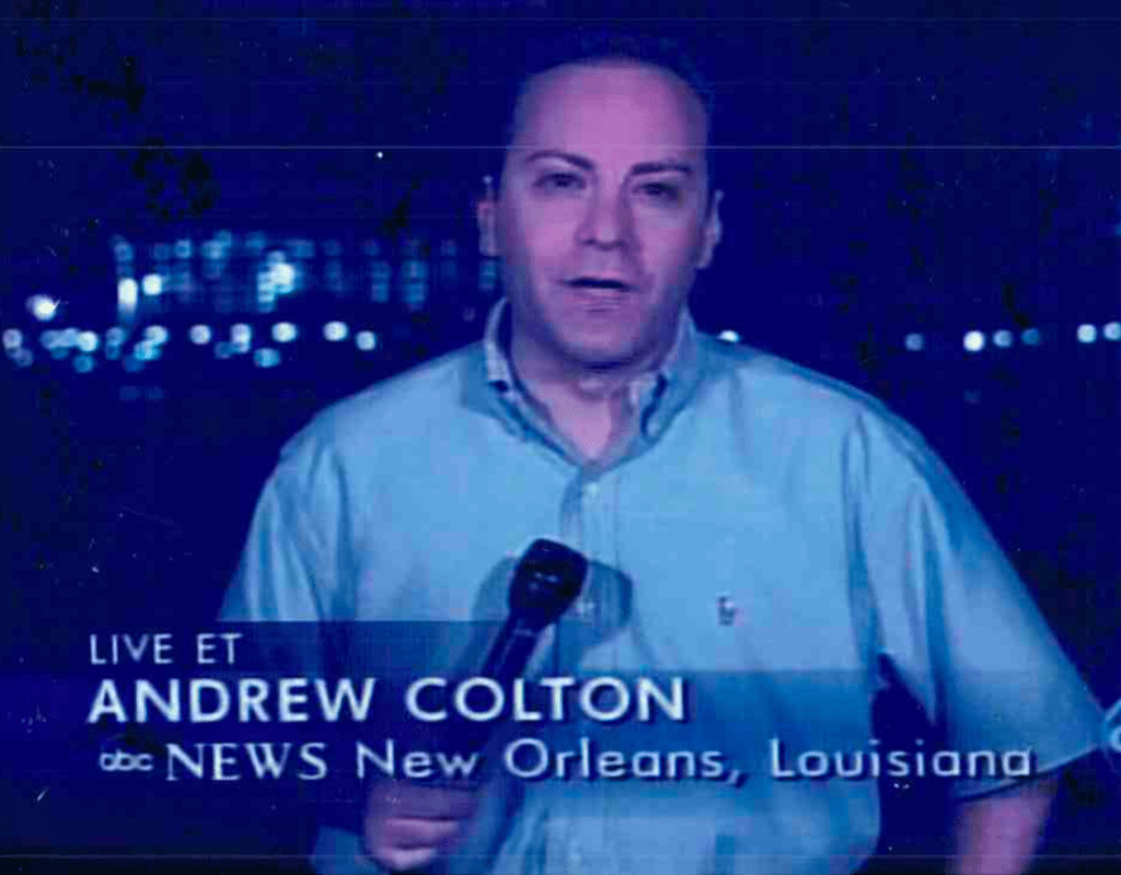 Andrew Colton award winning news correspondent legal video producer