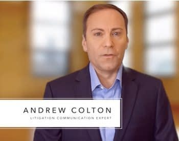 andrew colton day in the life legal video, legal settlement documentary production