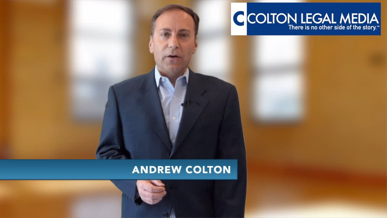 Andrew Colton Personal Injury Day In The Life Video