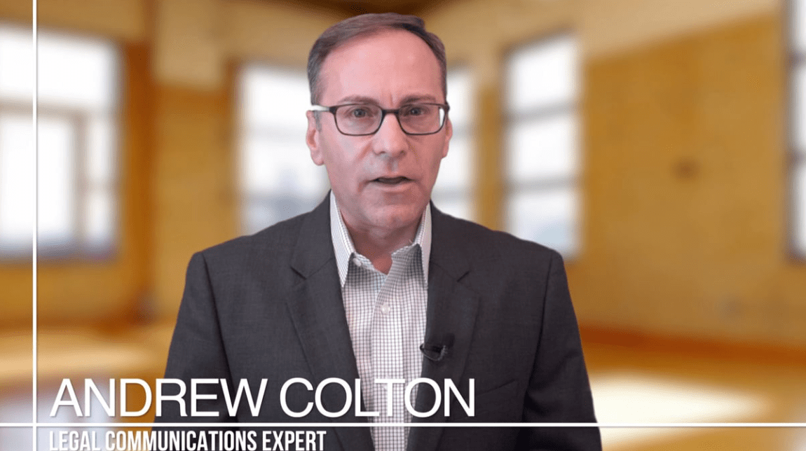 Andrew Colton Legal Video