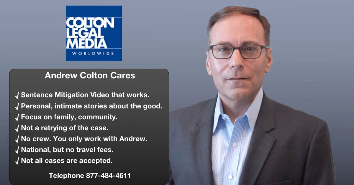 sentence mitigation video